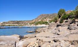 Costa de la isla de Creta, Grecia, Europa foto de archivo libre de regalías