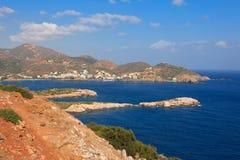 Costa de la isla de Crete imágenes de archivo libres de regalías