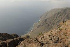 Costa de la isla del EL Hierro Imagen de archivo