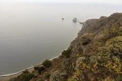 Costa de la isla del EL Hierro Imagen de archivo libre de regalías