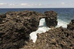 Costa de la isla del EL Hierro Fotos de archivo