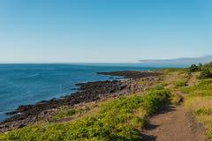 Costa costa de la isla del escaramujo Fotos de archivo