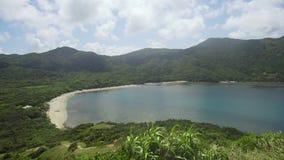 Costa de la isla de Palau filipinas metrajes