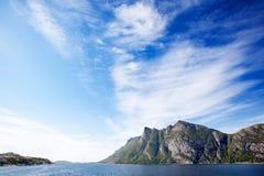 Costa de la montaña Imagen de archivo