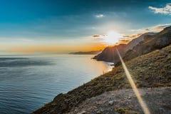 Costa de la montaña Foto de archivo libre de regalías