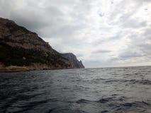 Costa de la península crimea Fotos de archivo libres de regalías