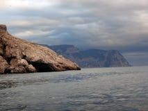 Costa de la península crimea Fotos de archivo