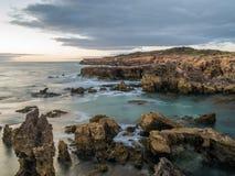 Costa de la piedra caliza, Australia Imágenes de archivo libres de regalías