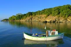 Costa de la reserva de naturaleza de Ropotamo Foto de archivo libre de regalías