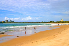 Costa de la sol, Australia Foto de archivo libre de regalías