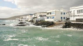 Costa de las islas Canarias Fotos de archivo libres de regalías