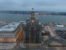 Costa de Liverpools Fotos de archivo