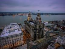 Costa de Liverpools Fotografía de archivo