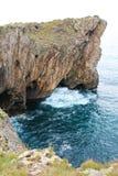 Costa de Llanes, Asturie, Spagna Fotografia Stock Libera da Diritti