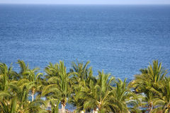 Costa de México fotografia de stock