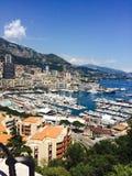 Costa de Mónaco Imágenes de archivo libres de regalías