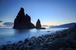 Costa de Madeira Fotografía de archivo libre de regalías