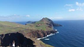 Costa de Madeira en primavera Fotografía de archivo