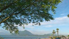Costa de Maggiore do lago, verão filme