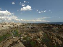 Costa de Maine Fotos de archivo libres de regalías