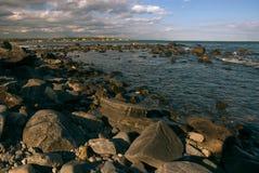 Costa de Maine Imagenes de archivo