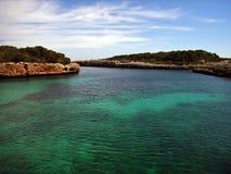 Costa de Majorca Foto de Stock