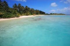 Costa de Maldives Imagenes de archivo