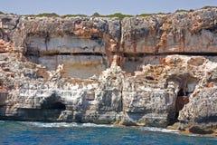 Costa de Mallorca Imagens de Stock