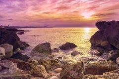 Costa de Mallorca imagenes de archivo