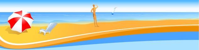 Costa de mar. libre illustration