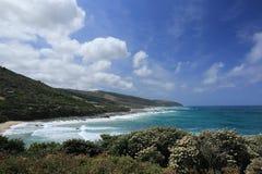Costa de mar Fotos de archivo libres de regalías
