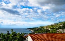 Costa de mar Fotografia de Stock