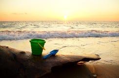 Costa de mar Imagens de Stock Royalty Free
