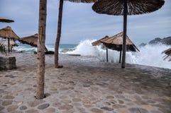 Costa de mar Fotos de archivo