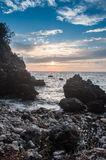 Costa de mar Imagenes de archivo