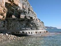 Costa de mar Fotografia de Stock Royalty Free