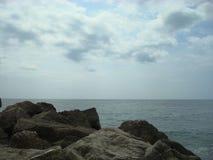 Costa de mar Foto de archivo libre de regalías
