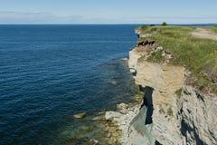 Costa de mar Báltico Foto de Stock Royalty Free