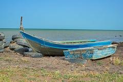 Costa de mar Cáspio Imagem de Stock