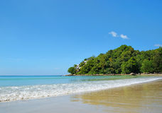 Costa de mar de Andaman perto da vila de Kamala Foto de Stock