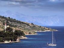 Costa de mar de Brac Fotografia de Stock