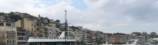 Costa de mar de Istambul Fotos de Stock