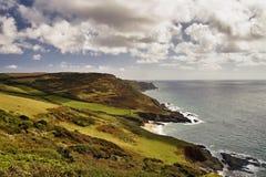 Costa de mar en Devon Fotos de archivo