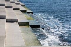 Costa de mar en Zadar fotografía de archivo libre de regalías