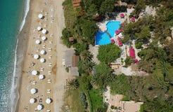Costa de mar Ionian Fotos de Stock Royalty Free