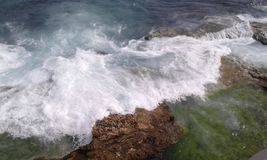 Costa de mar Mediterráneo Fotos de archivo