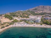 Costa de mar Mediterráneo Foto de archivo