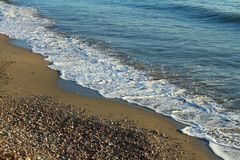 Costa de mar Mediterrâneo Foto de Stock Royalty Free