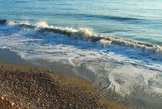 Costa de mar Mediterrâneo Fotografia de Stock Royalty Free
