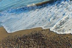Costa de mar Mediterrâneo Imagem de Stock Royalty Free